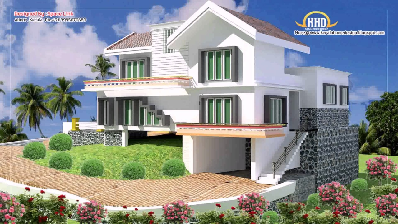 Two story duplex house plans in india youtube for 2 story duplex plans