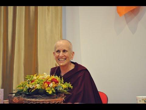 Досточтимая Тубтен Чодрон – Освободить место для Дхармы