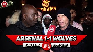 Arsenal 1-1 Wolves | I Love Aubameyang But He Was Pathetic Today!! (Lee Judges)