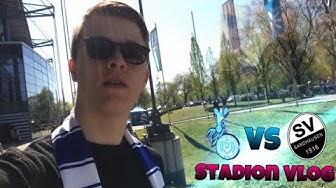 Fußball Stadion Vlog💙🔥 MSV Duisburg vs Sandhausen live im Stadion.😍[Deutsch]