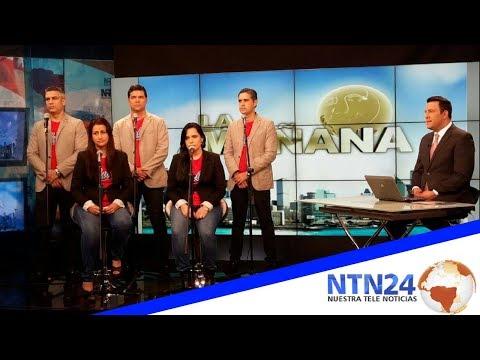 Vocal Monte de Sión  En NTN24 Tv Colombia