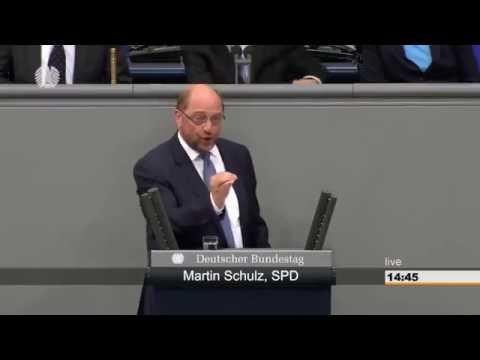 Schulz mit leidenschaftlicher Rede gegen...