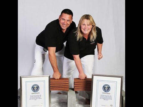 World's Toughest Couple Smash 2 New Martial Arts World Records in UK