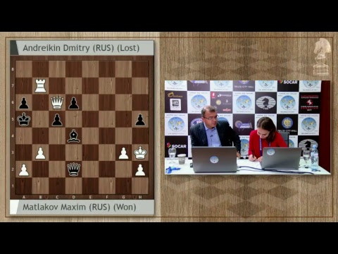 FIDE World Chess Cup 2017 Round 2 Tie Breaks