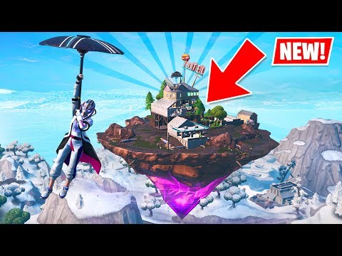 KEVIN IS BACK!! New ZAPPER TRAP and FLOATING ISLAND! (New Fortnite Update)