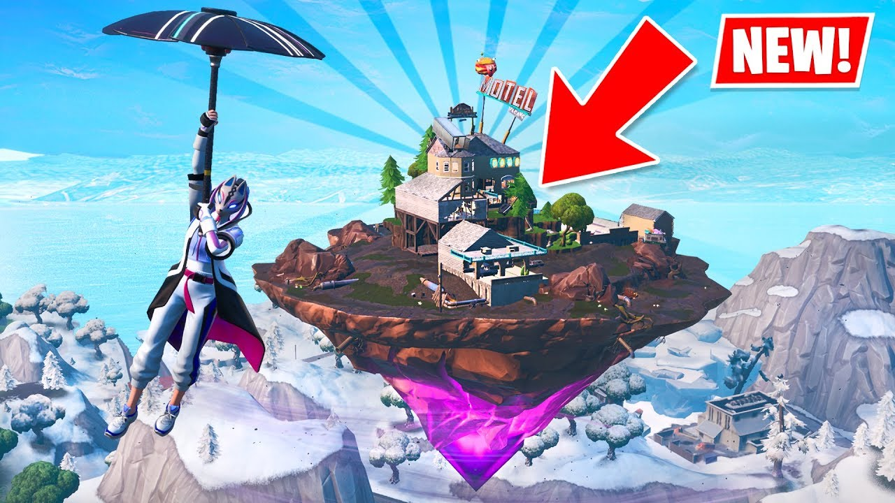 KEVIN IS BACK!! New ZAPPER TRAP and FLOATING ISLAND! (New Fortnite Update) thumbnail