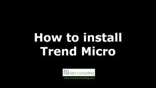 How to install Trend Micro Worry-Free Antivirus