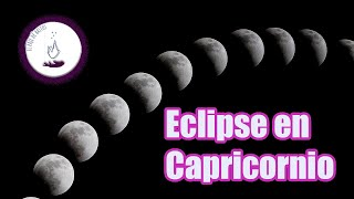 Eclipse en Capricornio - 16 de julio 2019 - Luna llena 🌕