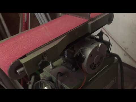 How to mod the harbor freight 6x48 belt sander to work.