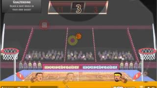 Flash Игра Баскетбол головами