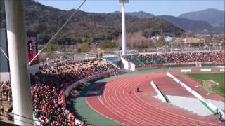 レノファ山口FCvsサンフレッチェ広島戦 プレシーズンマッチ2017年2月19...