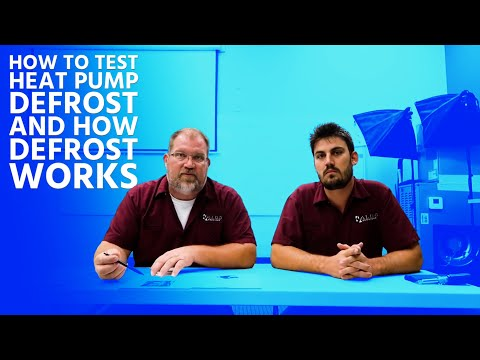 How to Test Heat Pump Defrost and How Defrost Works - YouTube