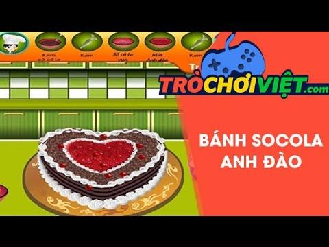 Game bánh socola anh đào – Video hướng dẫn cách chơi game