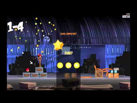 Angry Birds Rio: 3 Star Walkthrough Levels 1-1 to 1-8