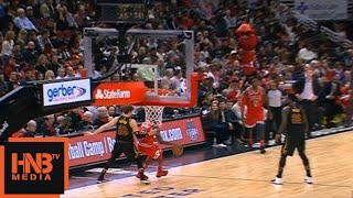 Justin Holiday 3rd Qtr Buzzer Beater / Bulls vs Cavaliers