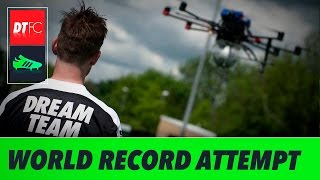 Football Freestyler Breaks Guinness World Record With 105ft Stunt