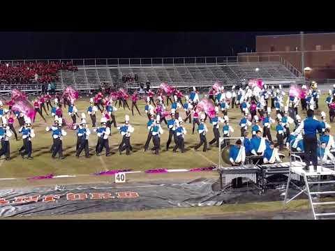 2017 Lyman HS Marching Band MPA 10-28-17