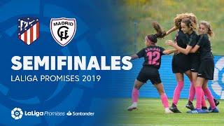Semifinales: Resumen de Atlético de Madrid Femenino vs Madrid CFF (0-3)
