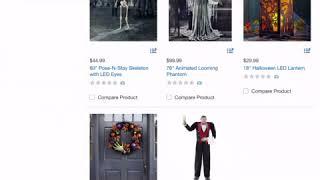 Costco Halloween Website 2018