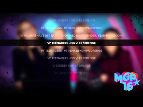 Teenagers - Teenagers  | Karaoke | MGP 2016