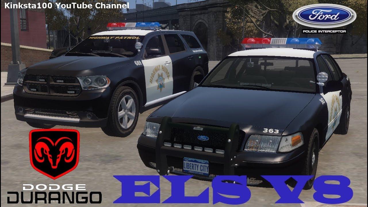 Gta 4 ELS V8 Police Pack Dodge Durango & Ford Crown ...