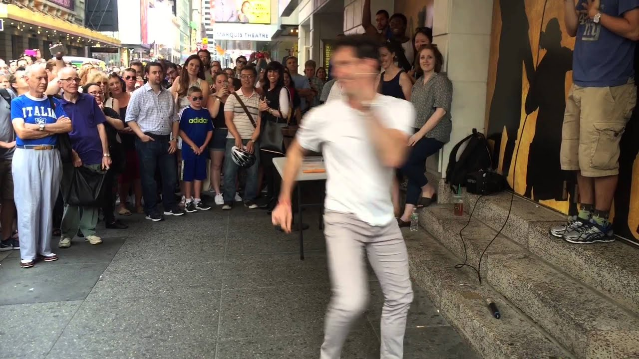 Hamilton Choreographer Andy Blankenbuehler Performs Original ...