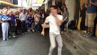 Hamilton Choreographer Andy Blankenbuehler Performs Original Choreography at #Ham4Ham 8/3/15