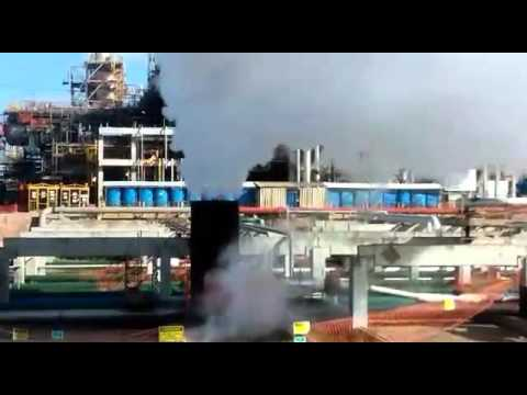 20140720 Steam Blowing Commissioning   Pipeline A1