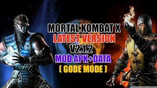 Mortal Kombat X 1 21 0 mod apk UNLIMITED EVERYTHING FOR
