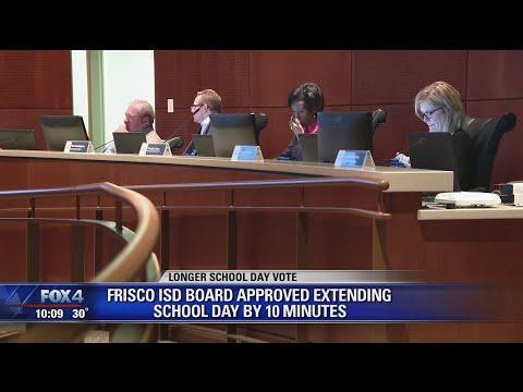 Frisco ISD approves longer school days for shorter school year