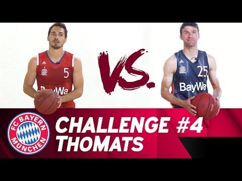 ThoMats #4 | Basketball Challenge | Müller vs. Hummels