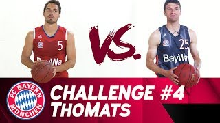 ThoMats #4 | Basketball Challenge | Müller vs. Hummels