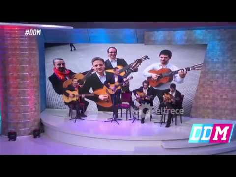 Rodrigo de la Serna cantó con su banda