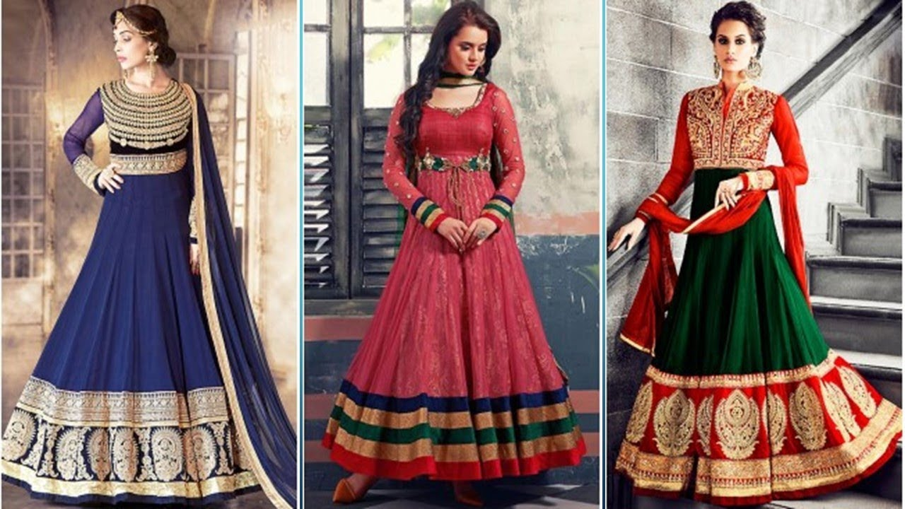 09e988adb40ae Traditional Anarkali Suit Designs 2018. Latest Designer ...