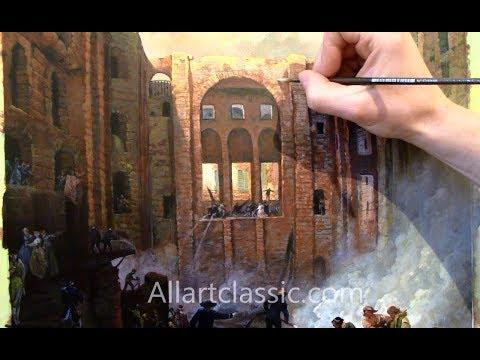 French Landscape Painting-Hubert Robert