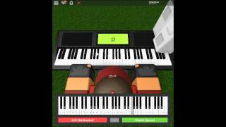 Euterpe - Guilty Crown by: Supercell on a ROBLOX piano. [Animenz Arrangement]
