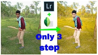 Lightroom and Snapseed photo retouch | Lightroom tutorial