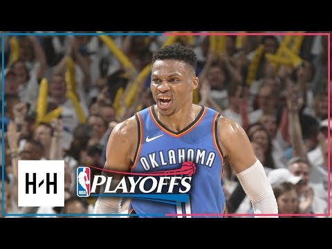 Utah Jazz vs Oklahoma City Thunder - Game 5 - Highlights | April 25, 2018 | 2018 NBA Playoffs