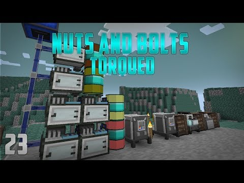 Minecraft Nuts and Bolts Torqued EP23 ATM Rockhounding
