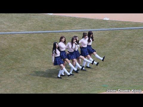 [Fancam 160319] 여자친구(GFRIEND) - 사랑별(Luv Star) - Daegu Samsung Lions Park