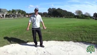 David Damesworth, PGA: Greenside Bunker Tip