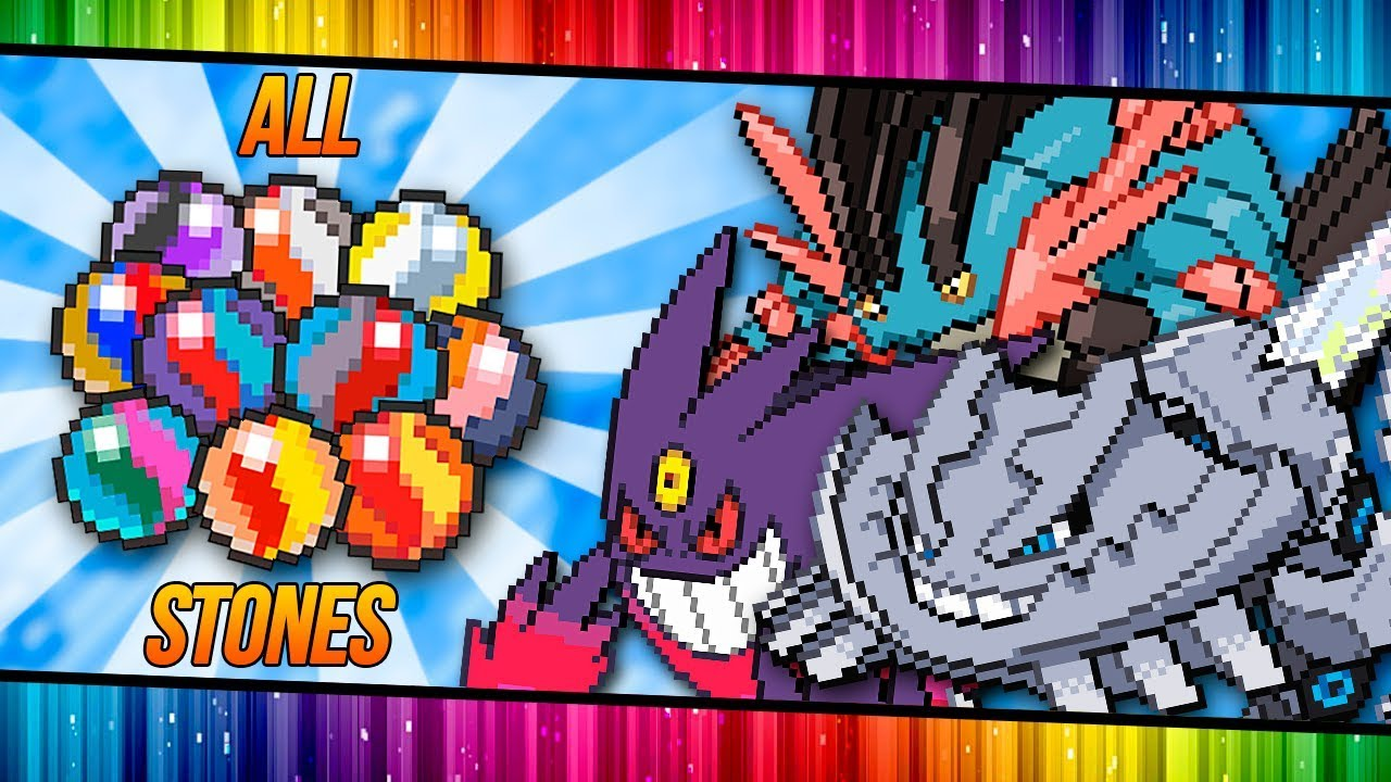 Download ALL MEGA STONES LOCATION: HYPER EMERALD DESTROY FORMER Z! (GBA)