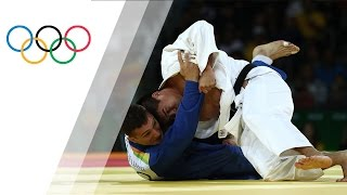 Japan's Baker wins gold in Men's Judo 90kg