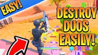 DESTROY Season 7 DUOS EASILY! How to Win Fortnite BEST Tips and Tricks! (Best Tips to get Better)