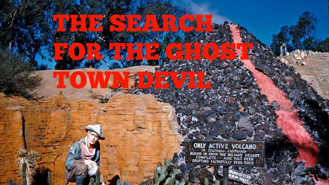 The Search for the Knott\u0027s Berry Farm Ghost Town Devil - YouTube