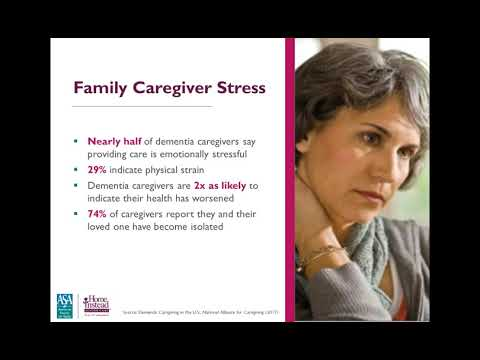Caring for Someone with Dementia Professional Caregiver Webinar