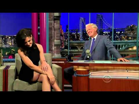 Katie Holmes on David Letterman HD