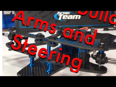 RC10F6 Front Arms Servo Build - Team Associated RC10F6 Factory Team F1 Kit