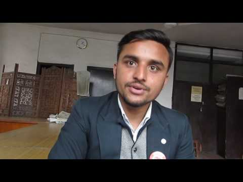 Interview  with Bisesh Sharma Subedi, Student Leader of Nepal Law Campus