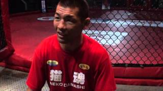 Ex-UFC fighter Ricky Fukuda attends SFL 19 to support Jaideep Singh